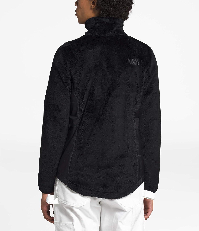 The North Face Women's Osito Hybrid Full Zip Fleece Jacket: Clothing