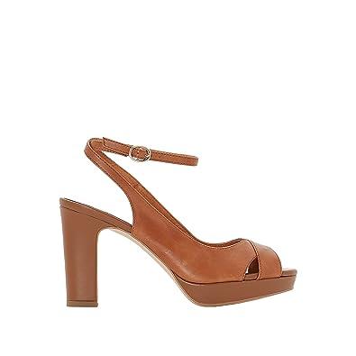 ATELIER R , Sandales pour femme marron Camel  Amazon.fr  Chaussures ... d9d7433ff881
