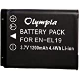 Replacement Battery for Nikon Coolpix S3500 Battery for Nikon Camera (3.7V 1200mAh Li-Ion)