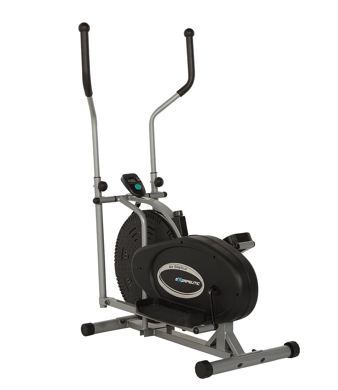 Amazon.com : Exerpeutic Aero Air Elliptical with Equipment Mat : Sports & Outdoors