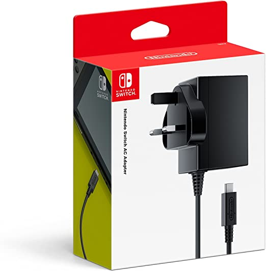 Nintendo Switch AC Adapter [Importación Inglesa]: Amazon.es: Videojuegos