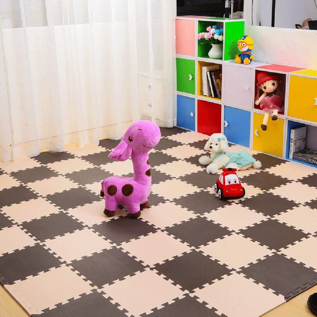 LFY Kinder-Puzzle-Spielmatte, große Schaumgummimatten (Farbe   C, größe   35 Piece) A 20 piece