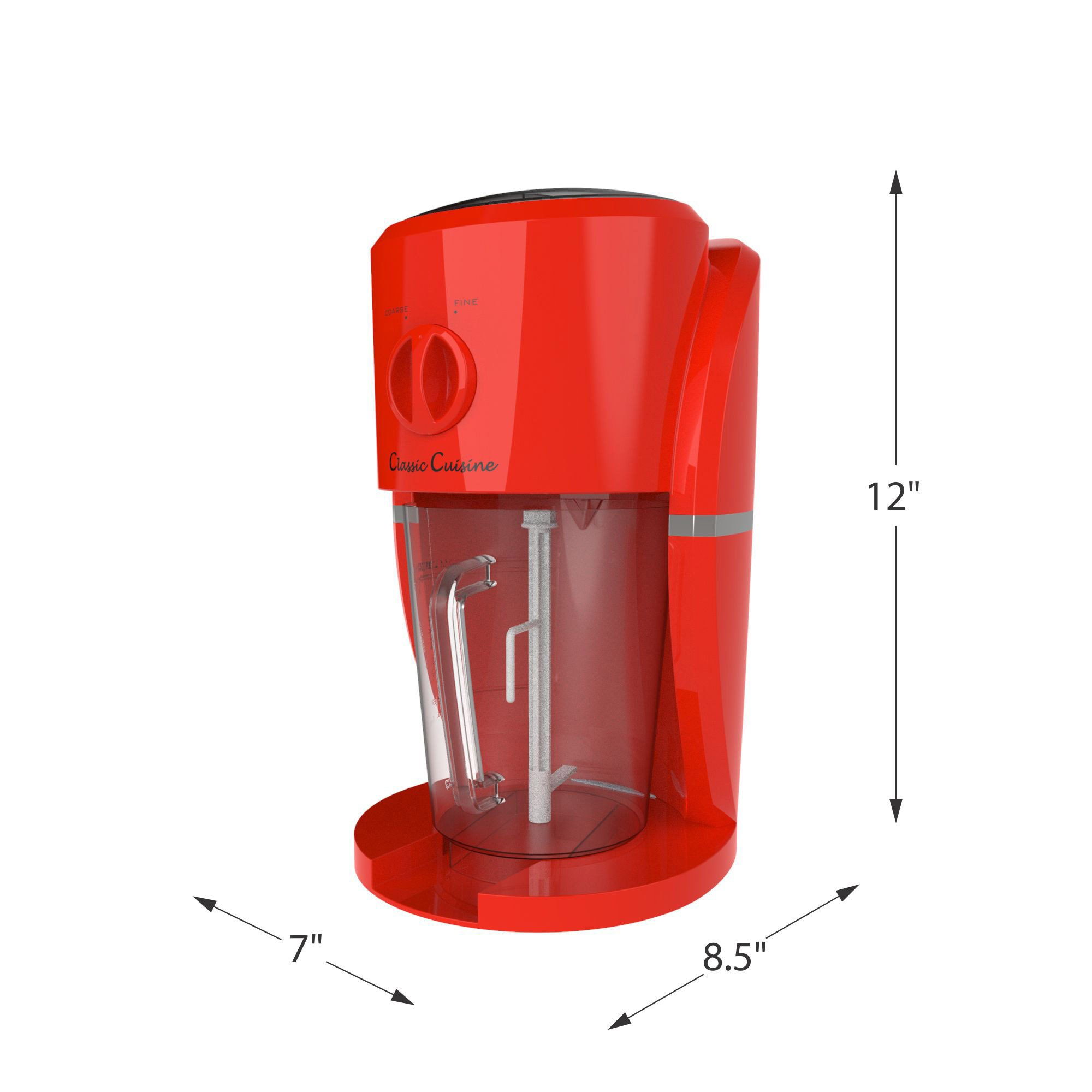 Frozen Drink Maker, Mixer and Ice Crusher Machine for Margaritas, Pina Coladas, Daiquiris, Shaved Ice Treats or Slushy Desserts by Classic Cuisine by Classic Cuisine (Image #1)