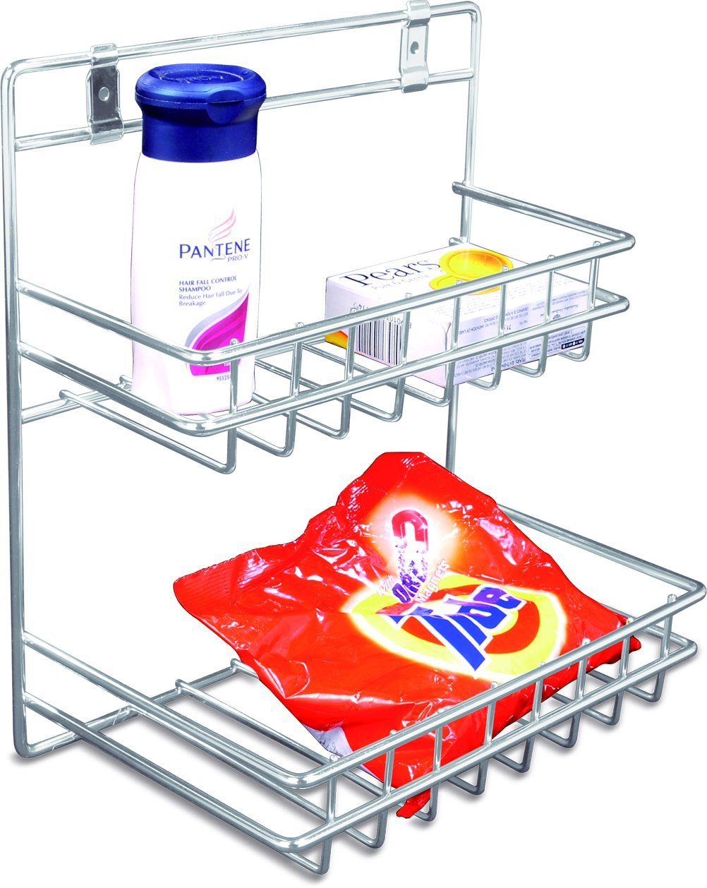 Buy Now & Ever Stainless Steel Detergent Holder, Silver Online at ...
