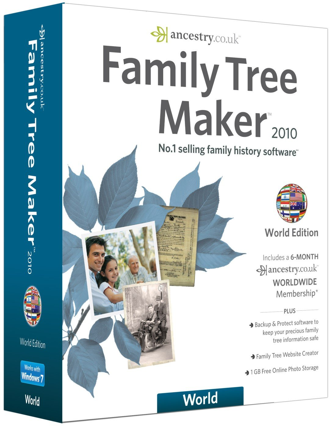 family tree maker 2010 world edition pc cd amazon co uk software