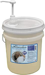 Alondra Free and Gentle Hypoallergenic Unscented Ultra Concentrated HE Liquid Laundry Detergent 640 fl. oz. 5 Gallon Bucket with Dispensing Pump (Approx. 426 Loads)