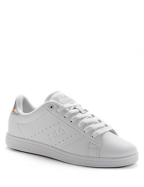 Fila - Zapatillas para Mujer Blanco Blanco, Color Blanco, Talla 35 EU: Amazon.es: Zapatos y complementos