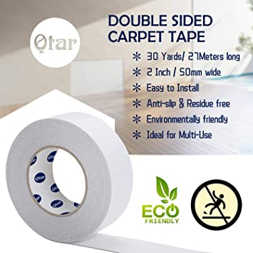 Double Sided Carpet Sticky Tape Anti Slip Non Skid Rug Tape For