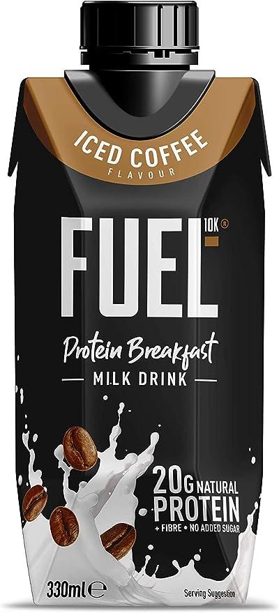 Batido para el desayuno de leche con café FUEL10K con alto ...