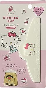 Sanrio Hello Kitty Plastic Sealing Clips Wide Food Snack Bag 14.6 × 4.9 cm Kitchen