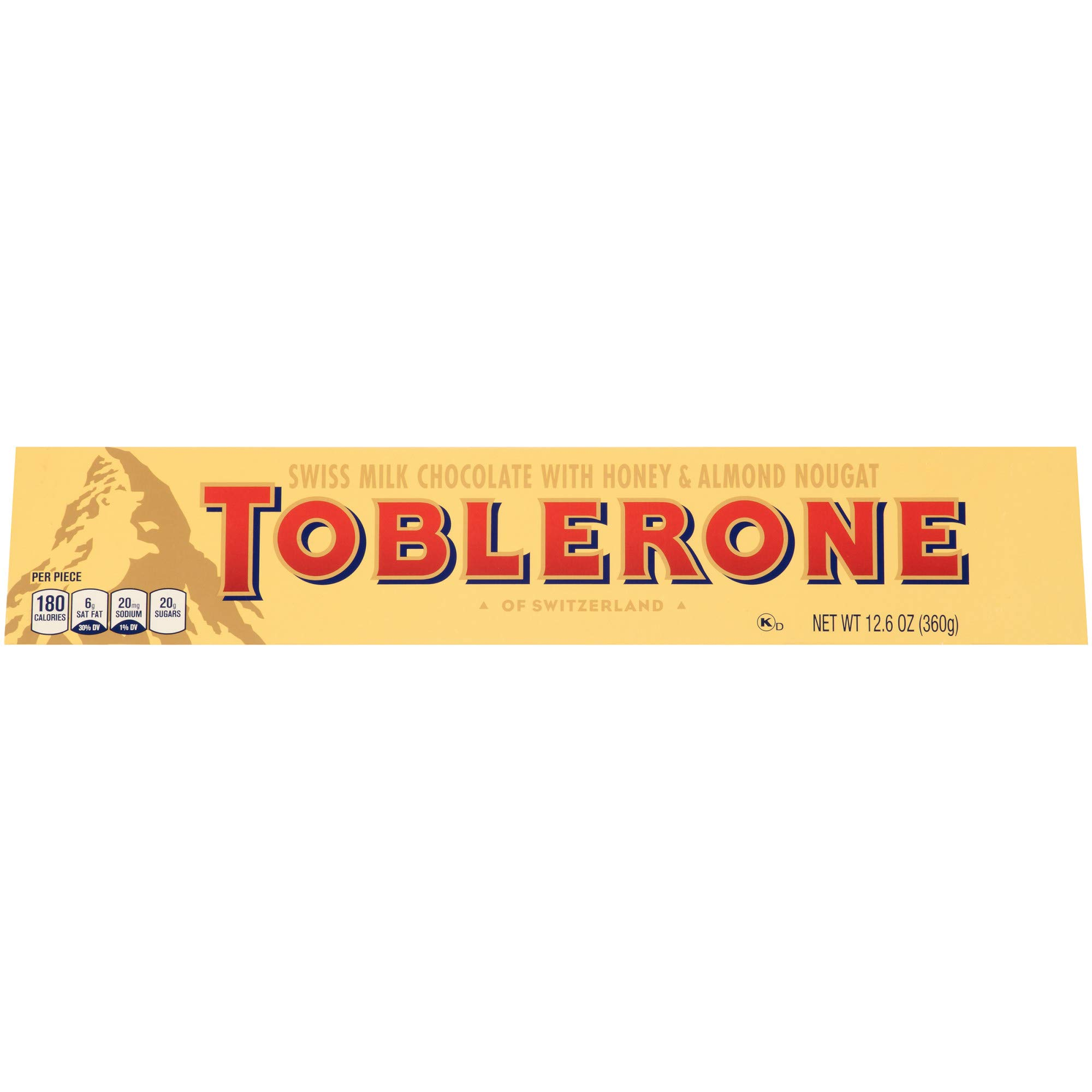 Toblerone Swiss Milk Chocolate Bar, 1 bar (12.6 oz)
