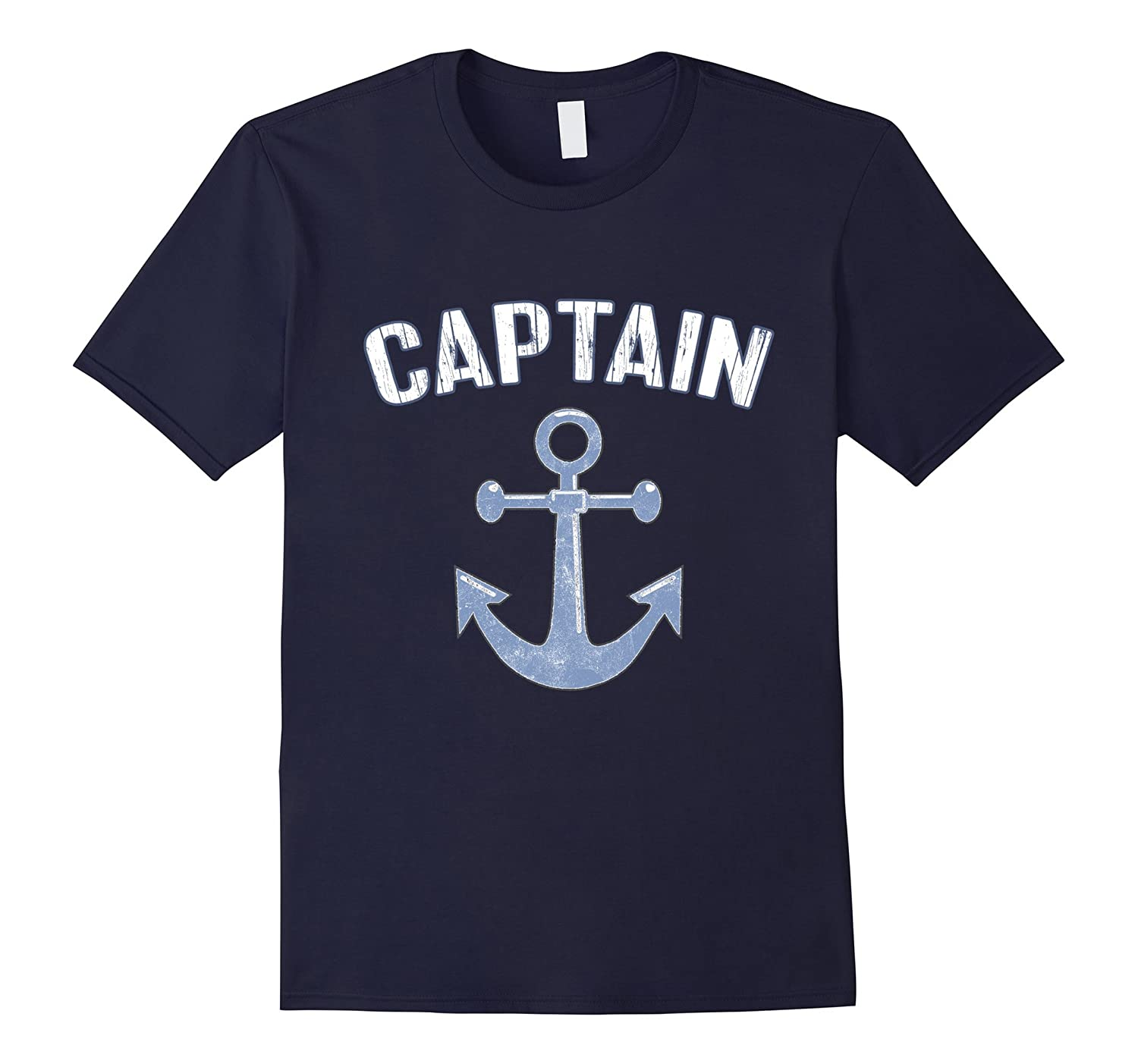 Captain TShirt: Boat Captain Sailing Nautical Crew Shirt-FL