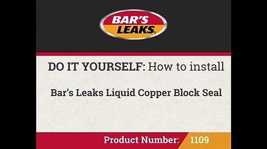Bars Liquid Copper Block — BCMA