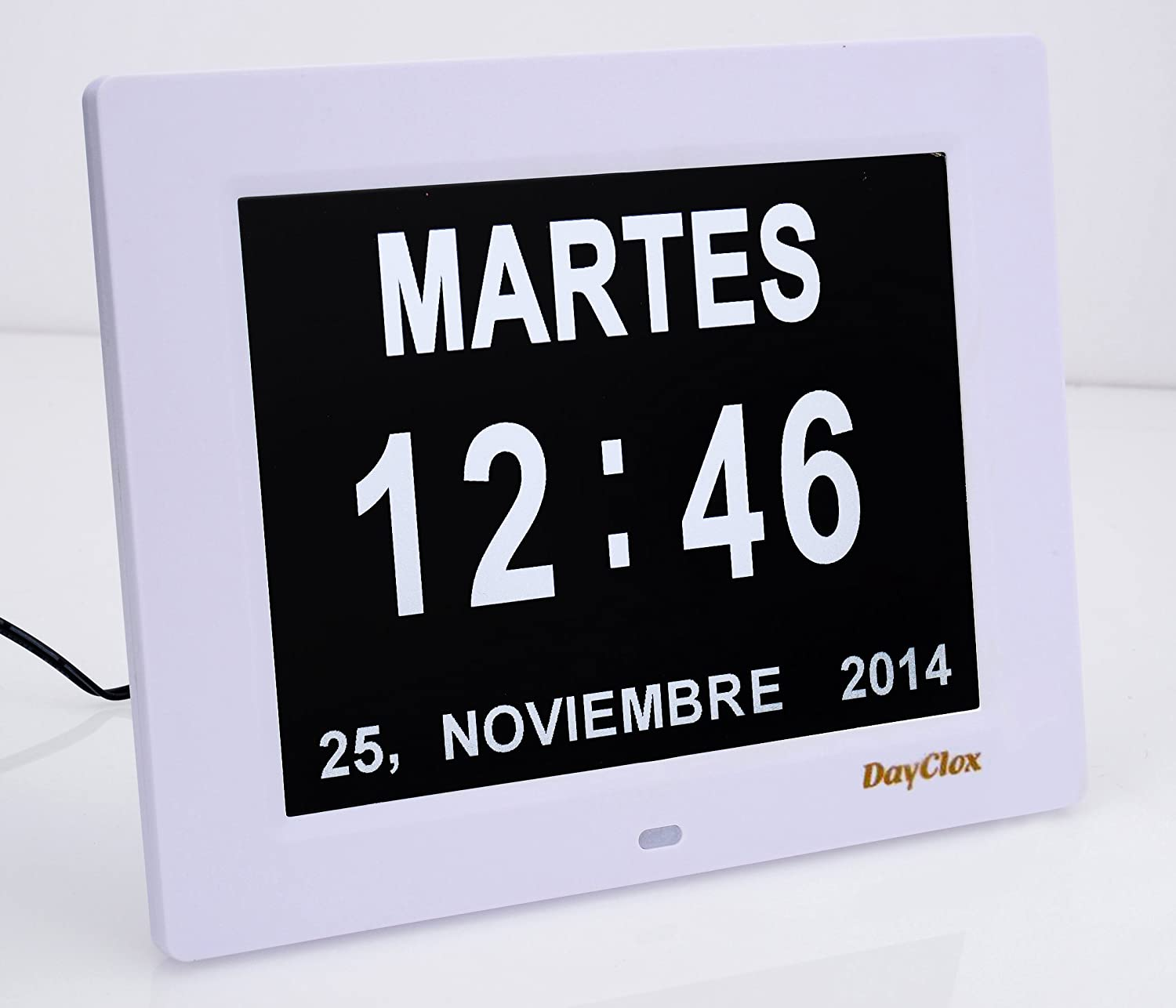 Dayclox The Original Memory Loss Digital Calendar Day Walmart Wiring Money Hours Clock With Extra Large Non Abbreviated Month Perfect For Seniors Home Kitchen