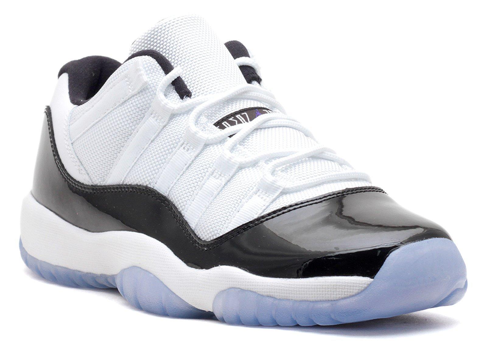 Jordan Gradeschool 11 Retro Low Bg White/Black-Dark Concord 528896-153 4 by Jordan