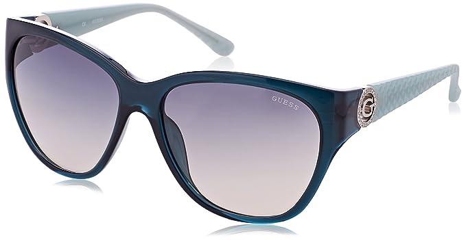 GUESS GU7348, Gafas de Sol para Mujer, Verde, 60: Amazon.es: Ropa y accesorios