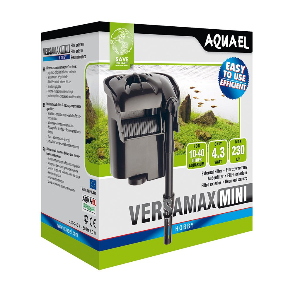 Amazon.com : Aquael Aquatics 115070 Versamax FZN-Mini Filter : Pet Supplies