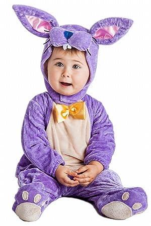 Disfraz de Conejo Lila Infantil (0-6 meses): Amazon.es: Juguetes y ...