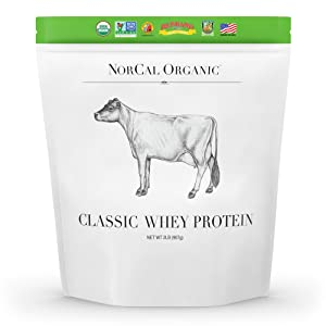 NorCal Organic Classic Whey Protein