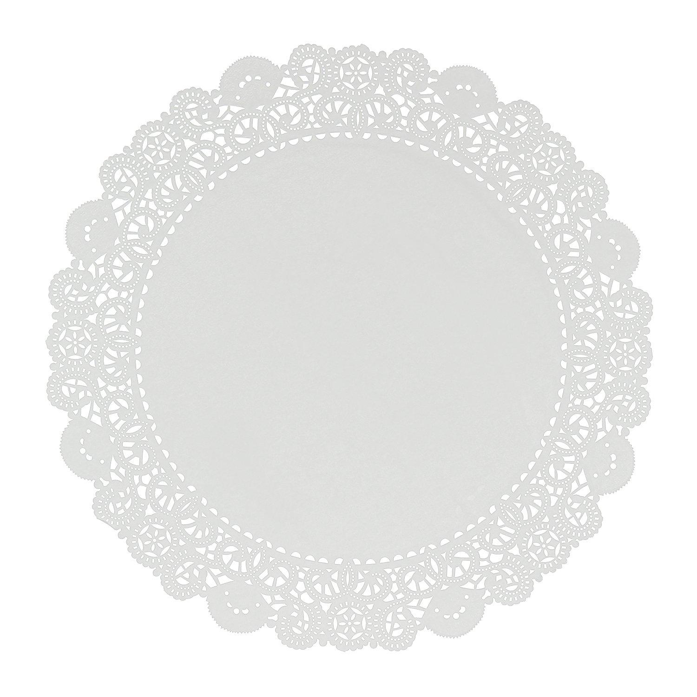 Royal 18'' Disposable Paper Lace Doilies, Case of 1000