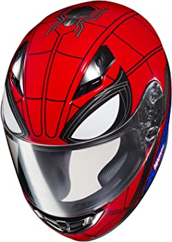 HJC Unisex Spiderman Homecoming - Crazy Motorcycle Helmet