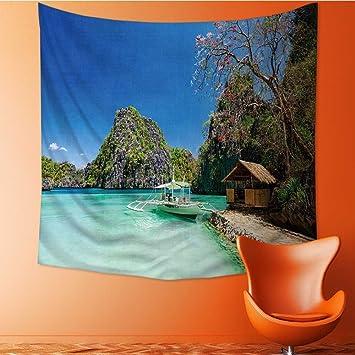 Amazon Muyindo Tapestry Mystic House Decorfilipino Boat In The