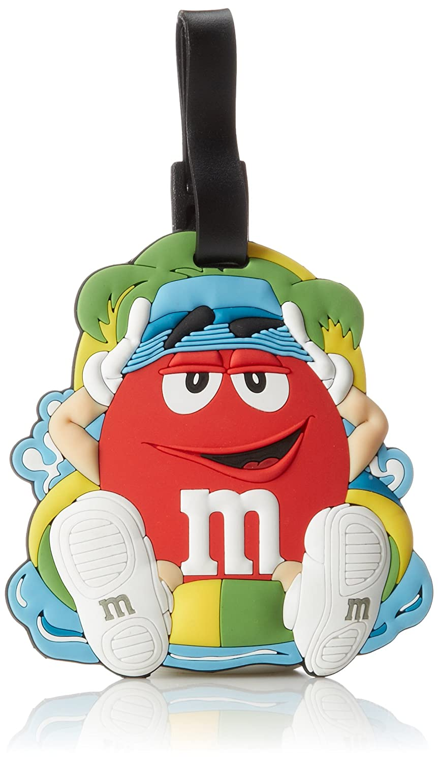 M & M Jumbo Luggage Tag, Blue, One Size MR5451BL