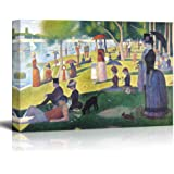 """Wall26 A Sunday on La Grande Jatte by Georges Seurat Giclee Canvas Prints Wrapped Gallery Wall Art 