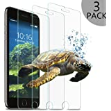 wsky Pellicola in Vetro Temperato per iPhone 7Plus, 3pezzi Pellicola Protettiva per 5,5pollici, Durezza 9H ultra sottile 3d Touch Compatibile (3pezzi)