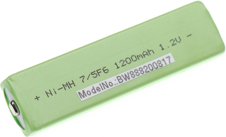 MZ-NH900 vhbw Bater/ía 7//5F6 MZ-N710 MZ-N810 1,2V 1100mAh Button Top NiMH MZ-NF810CK MZ-N910 Compatible con Sony MZ-N1
