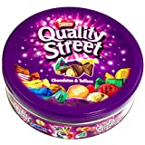 Nestle - Quality Street Chocolates & Toffees Tin Box - 240 Grams