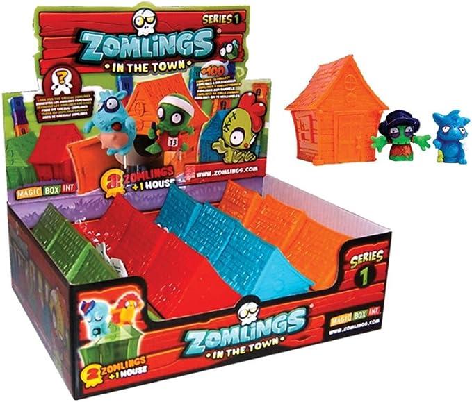Expositor 12 casas + Zomlings: Amazon.es: Juguetes y juegos