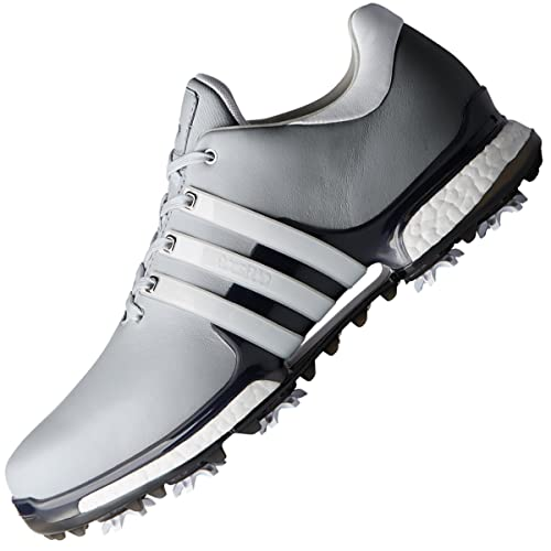 san francisco 6732d dd974 adidas Men s Tour 360 Boost 2.0 Golf Shoes, Silver White F33793 11 UK