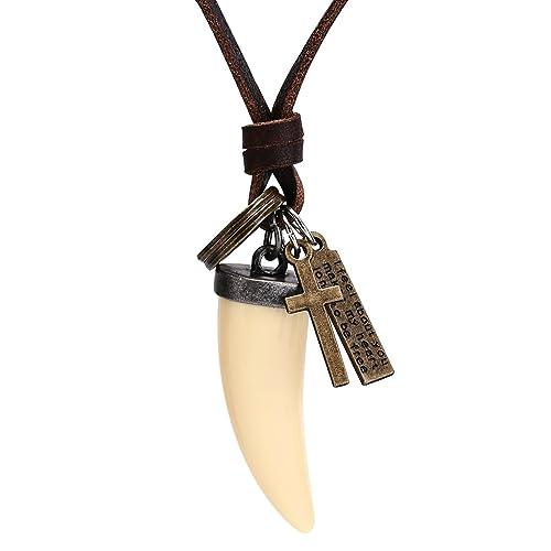 AnaZoz Collar Hombre Collar Acero Inoxidable Hombre Collar ...