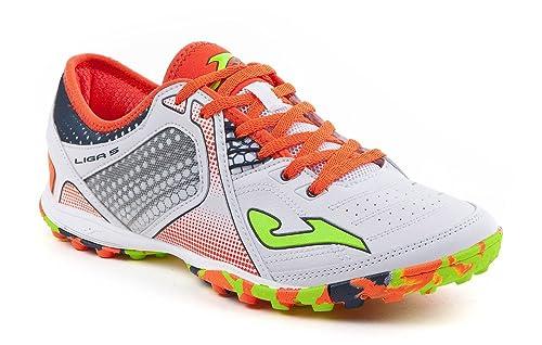 Zapatillas para Liga sala hombre Outdoor TF y 5 Ligas fútbol Joma Zapatos Blancas de 702 Amazon complementos es 702 wfxIpzq