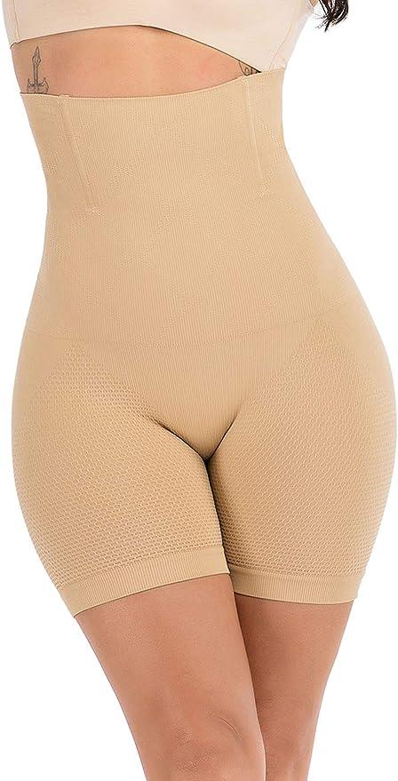 ASO-SLING Mens High Waist Butt Lifter Panties Slimming Pants Weight Loss Shorts