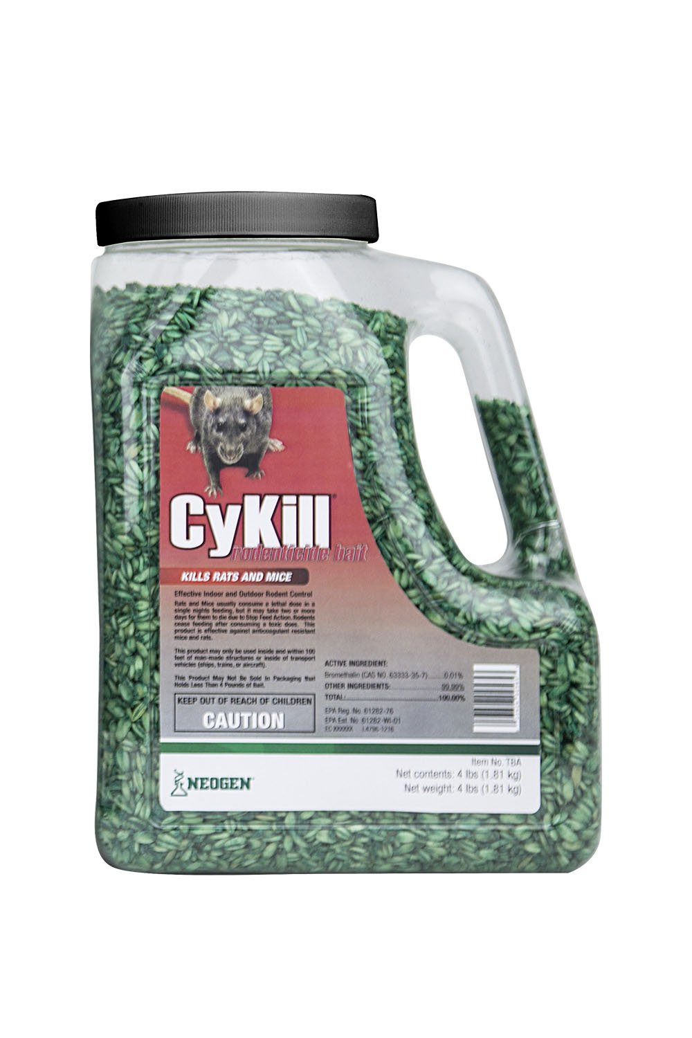 Cykill 112840 Bromethalin Rodenticide Bait