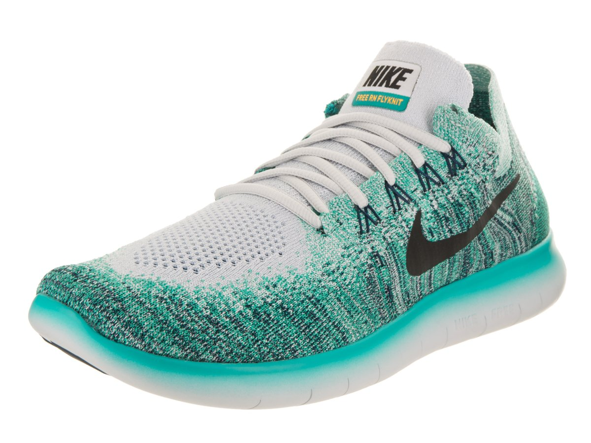 0583fc42b06d Galleon - Nike Men s Free Rn Flyknit 2017 Pure Platinum Running Shoe Size  8.5 Men US