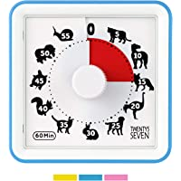 Countdown Timer 3 inch; 60 Minute 1 Hour Visual Timer - Classroom Teaching Tool Office Meeting, Countdown Clock for Kids…