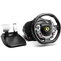 "Thrustmaster TX Racing Wheel Ferrari 458 Italia Edition and ""The Crew"" PC: Unique Revolutionary Racing Pack - Xbox One"