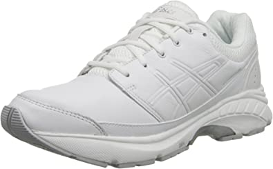 Perceptible Miedo a morir Subjetivo  Amazon.com | ASICS Women's Gel-Foundation Workplace-W, White/Silver, 6 M US  | Running