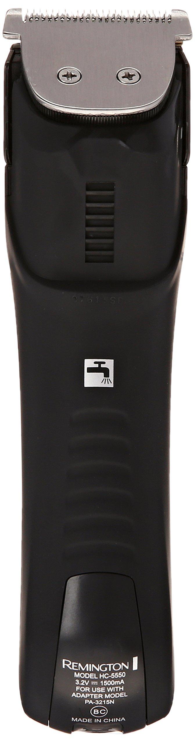 Remington HC5550AM Precision Power Haircut & Beard Trimmer, Hair Clippers, Beard Trimmer, Clippers by Remington (Image #2)