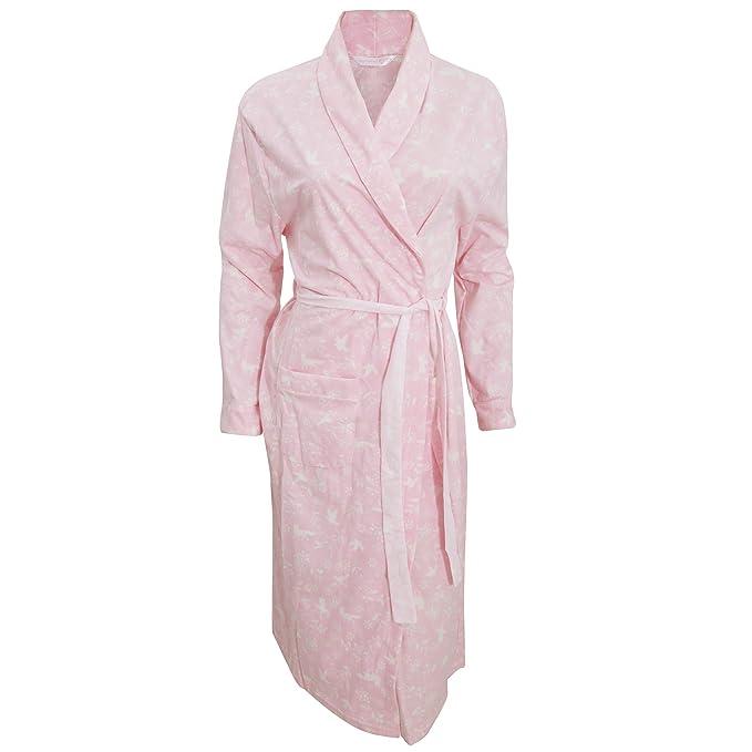 Inspiraciones - Bata de Estar por casa Estilo Kimono con Estampado para Mujer (38-