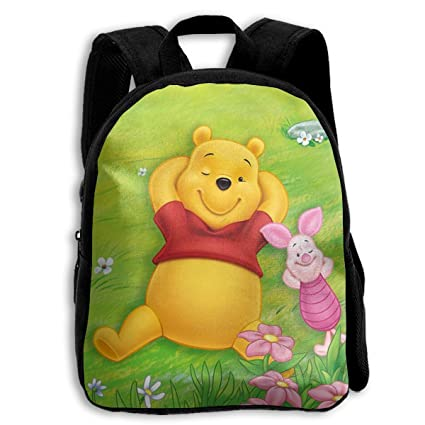 062a01acf6a Image Unavailable. Image not available for. Color  MPJTJGWZ Children s  Backpack- Casual Oxford Cloth Fashion Winnie The Pooh Spring Print School  Bag