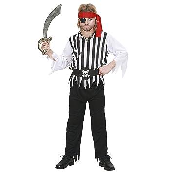 WIDMANN Piratenkostüm für Kinder - Disfraz de pirata para niño (8 ...
