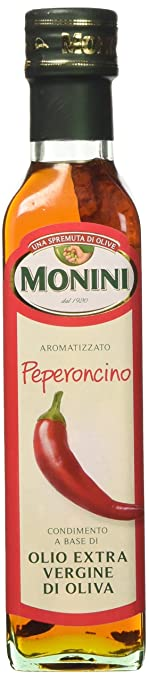 3 opinioni per Monini Aromatizzato Peperoncino Condimento a Base di Olio Extra Vergine di