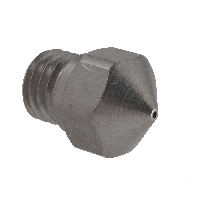 Micro Swiss A2 Hardened Steel Nozzle M6 Thread 3mm Filament 0.6mm
