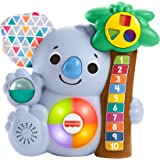 Fisher-Price Linkimals Counting Koala, musical learning toy for babies and toddlers