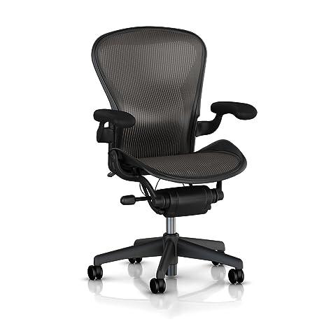 Amazon.com: Aeron Desk Chair, Basic, Color - Carbon, Medium ...
