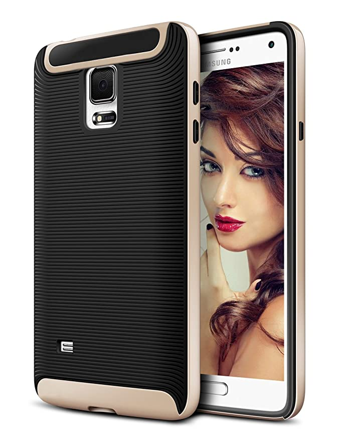 41 opinioni per Samsung S5 Cover,Coolden® Oro Ultra Sottile Thin Shock-Absorption Hybrid Soft